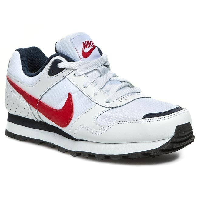 Παπούτσια NIKE - Md Runner Bg 629802 164 White/University Red/ Obsidian