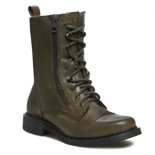 Μποτάκια BRONX - 43864-G BX445 Army/Grey 778