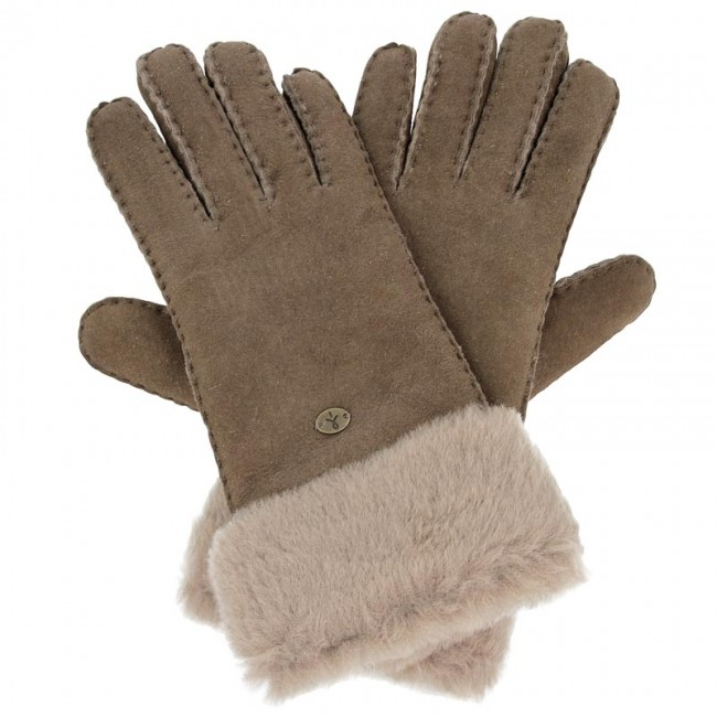 Γάντια Γυναικεία EMU AUSTRALIA - Apollo Bay Gloves M/L Chocolate