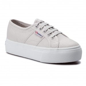 f60a086ded3 Πάνινα παπούτσια SUPERGA - 2790 Acotw Linea Up And Down S0001L0 Grey  Seashell G04