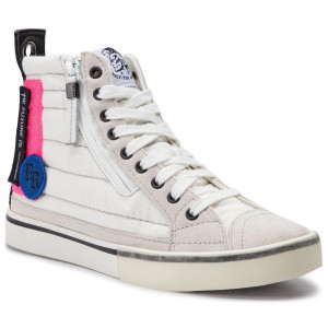 cbdbf63003d Αθλητικά DIESEL D-Velows Mid Patch W Y01923 P2283 H7102 Star White/Pink Fluo
