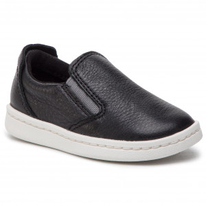 83e5d24951e Πάνινα παπούτσια CLARKS - Street Verve T 261421866 Black Leather