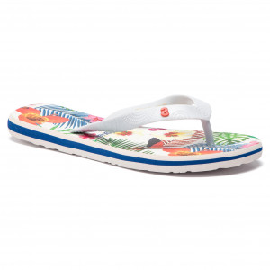 8e064c741bc Σαγιονάρες DESIGUAL - Shoes Flip Flop Tropical 19SSHF17 1000 Λευκό